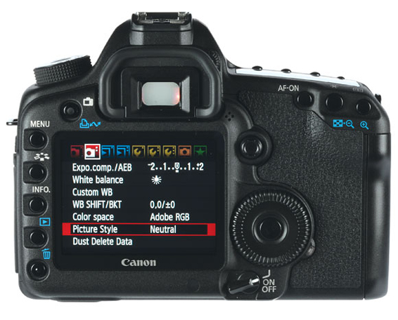 This Canon camera is similar to all recent EOS models in terms of primary controls so anyone trading up from a lower-level model will not experience a very steep learning curve. Of course, the EOS 5D Mk II is equipped with some entirely new features and these do require study of the instruction manual plus some experimentation.
