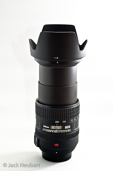 THE LENS. The AF-S DX VR Zoom-NIKKOR 18-200mm f/3.5-5.6G IF-ED