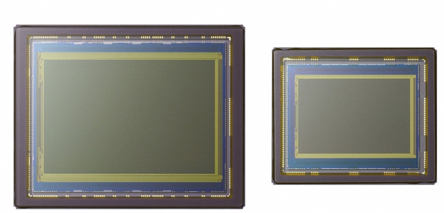 A full-frame sensor is substantially larger than the more typical (smaller) APS-C format. Hence, the size of each pixel can also be much larger even on a chip that contains millions of additional light sensitive points for much higher resolution.