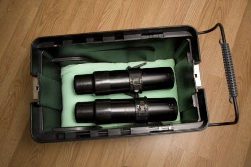 ProFoto ComPact 300s with foam lining