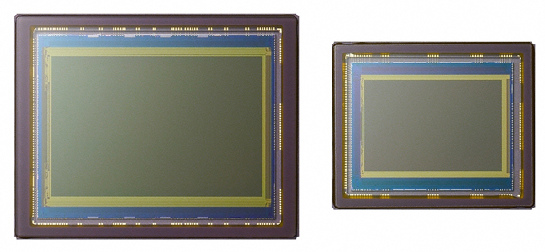 "When compared to the ""typical"" 1.8x23.6mm sensor used in many DSLRs, a full-frame 24x36mm chip is huge. While the difference may not be impressive at a glance, it's worth noting that the surface area of the full-frame sensor is roughly 2.5 times larger. Assuming the same number of pixels on each chip, you can assume that the size of each photodiode will also differ significantly."