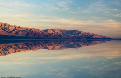 Badwater Reflections, Death Valley
