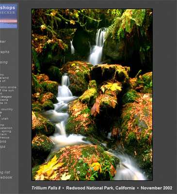 Sample Image Display Page