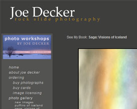 Websites for the Business of Photography