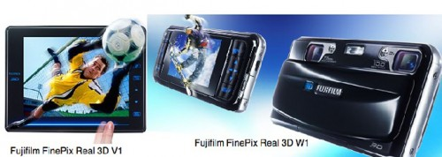 Fujifilm's unique Real 3D system includes the W1 camera, the V1 viewer and 3D prints-available only from Fuji at this time.