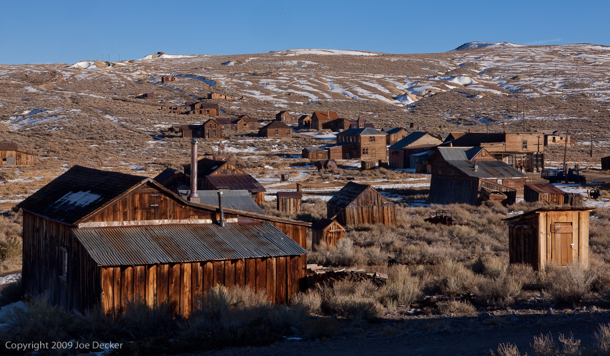 Photographing Bodie