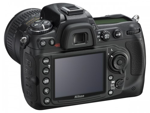 <strong>Nikon D300S-back of camera.</strong> You'll notice the dedicated Live View button to the right of the large LCD. Above that, centered in the multi-selector control dial, is the Movie button.<strong> <i> Photo courtesy Nikon</strong> </i>