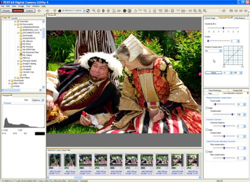 Created by the developers of Silkypix software, the Pentax Utility program is an unusually versatile RAW converter with tools for modifying all aspects of a photo.  ©2009 Peter K. Burian