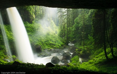 North Falls Canyon, Silver Falls State Park, Oregon