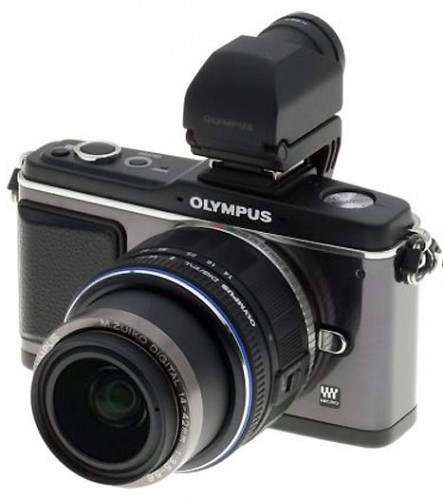 Perhaps the strongest competitor for the PowerShot G11, the Olympus E-P2 is not equipped with a built-in flash or a viewfinder. Add either of those accessories and the camera - with the kit zoom lens - will be even larger. By comparison, the G11 is quite compact and more portable.