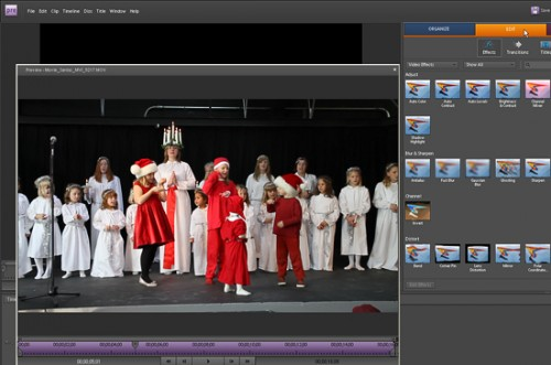 The new Adobe Elements Premiere 8 video editing software is compatible with many video formats including MOV and AVI. While this is not a pro grade program, Premiere 8 is quite versatile and a fine choice for getting started.  ©2009 Peter K. Burian