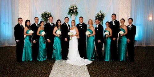 group formal tampa wedding photography