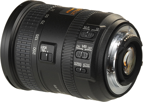 This all-purpose lens, with VR II stabilizer, Silent Wave AF and a zoom lock switch is well equipped with features; in this aspect, it's similar to some of the more expensive Nikkor AF-S lenses.
