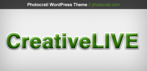 Photocrati Sponsoring CreativeLIVE With Don Giannatti