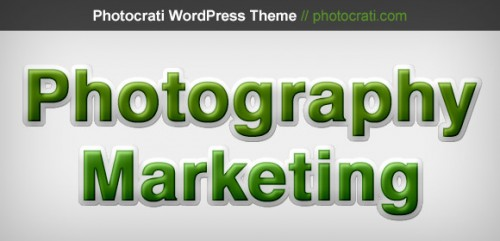 Photography Marketing By Visualizing Data