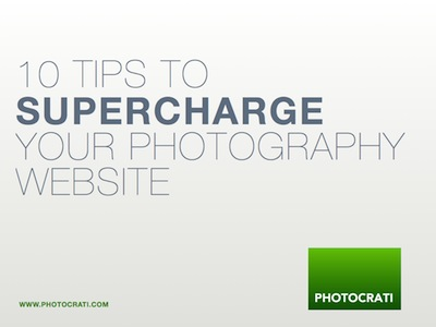 10 Tips Supercharge Your Photography Website – Free eBook