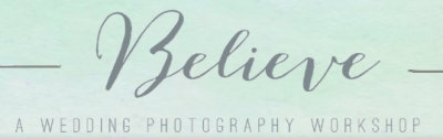 Sponsoring The Believe Workshop