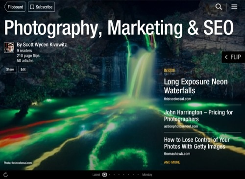 Flipboard Magazines For Your Photography Business