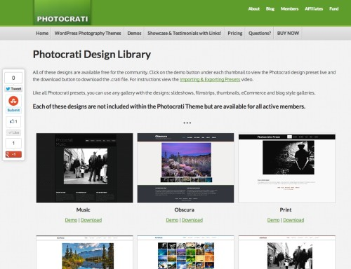 Meet The New Photocrati Design Library