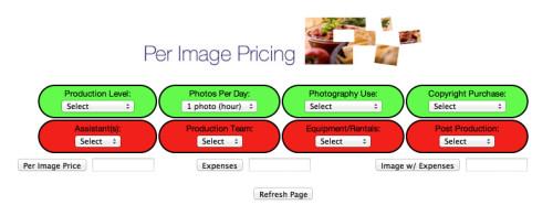 Per Image Pricing