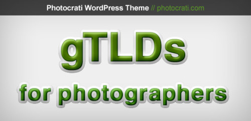 What Photographers Should Know About gTLDs, Habits and SEO