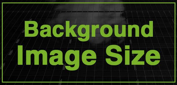 How Find Optimal Background Image Size Using Google Analytics