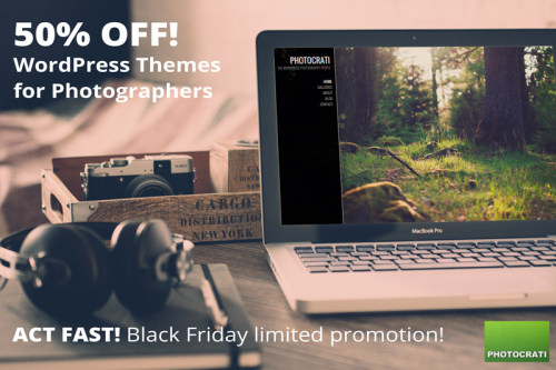 Photocrati Theme On Sale for 2014 Black Friday