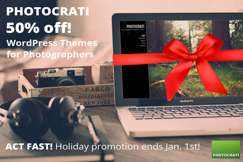 Happy Holidays & New Year From The Photocrati Family To Yours