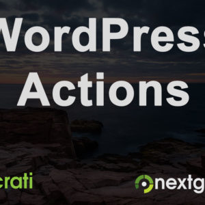 10 WordPress Actions for Photographers