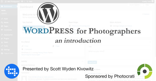 Free WordPress for Photographers Intro Class in NYC