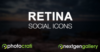 Use Retina Ready Social Icons On Your Site With Font Awesome