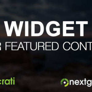 Photocrati Featured Content Widget
