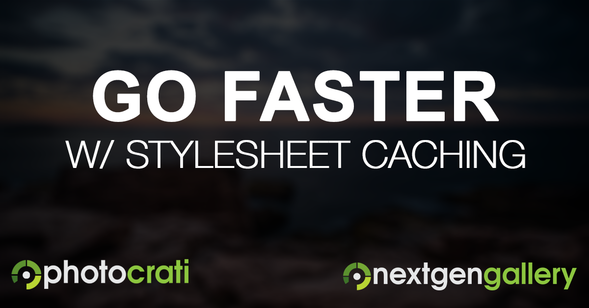 Dynamic Stylesheet Caching Improves Site Performance