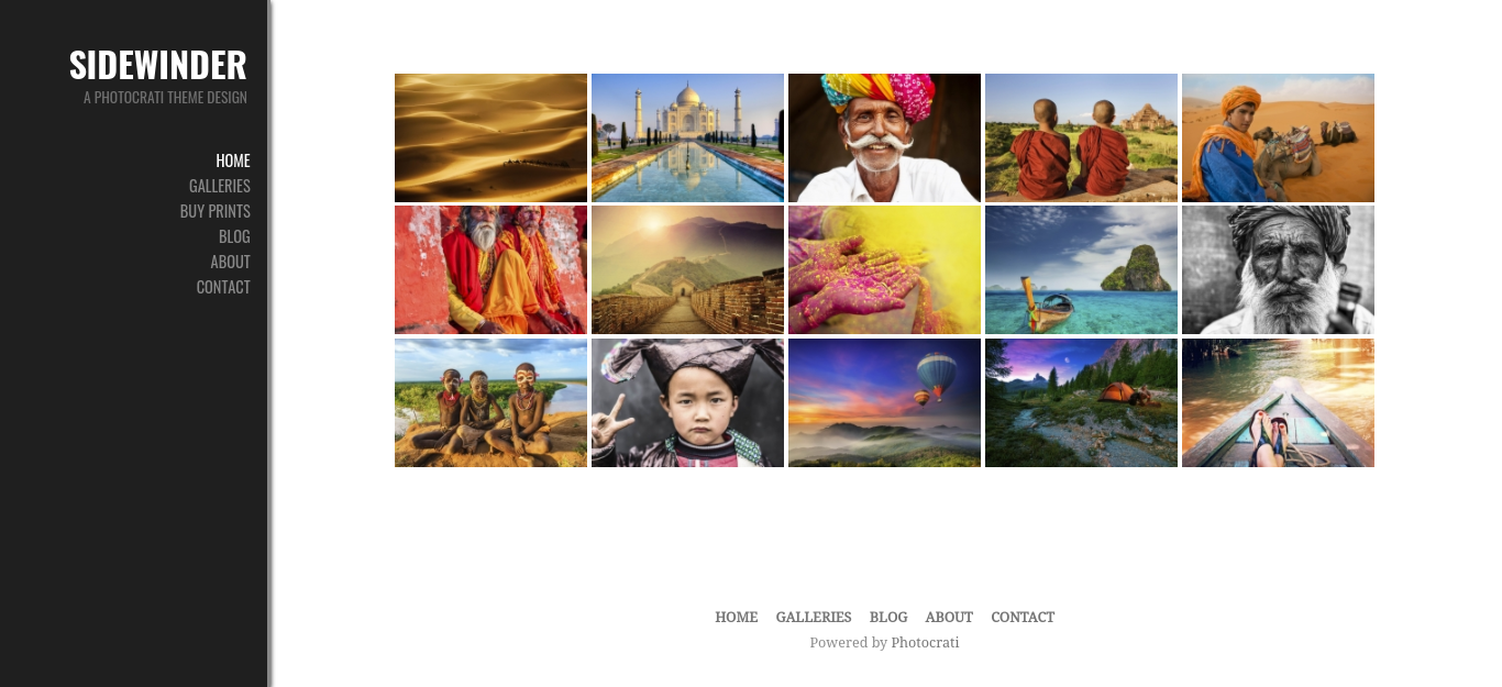 Select Galleries That Take Up the Right Amount of Page Space