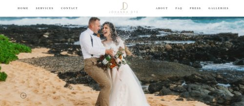 One of the most common subsets of this niche is wedding photography: