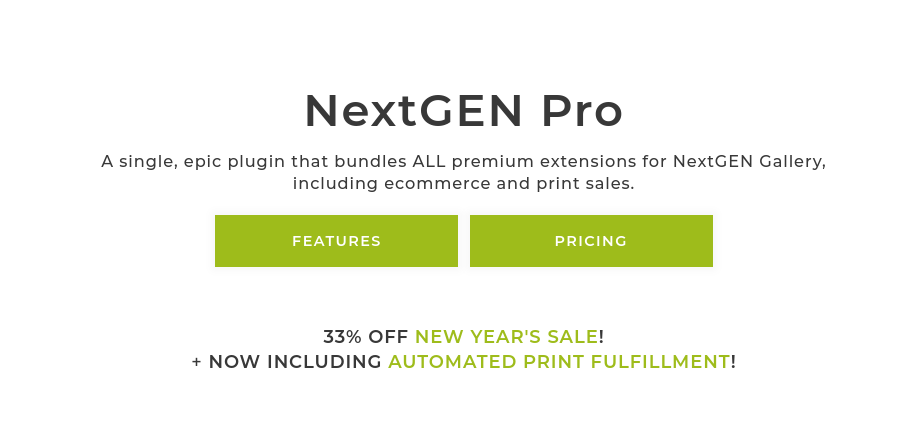 One way to do this is to use the NextGEN Pro plugin: