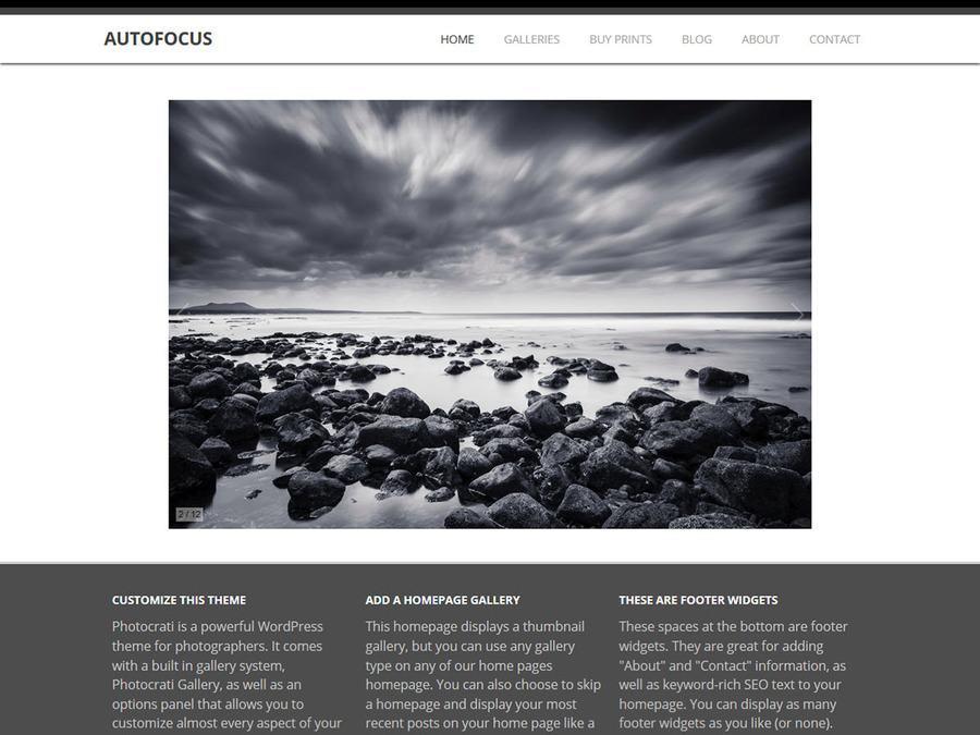 Autofocus WordPress Theme