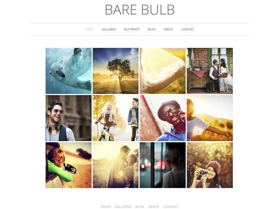 Bare Bulb WordPress Theme