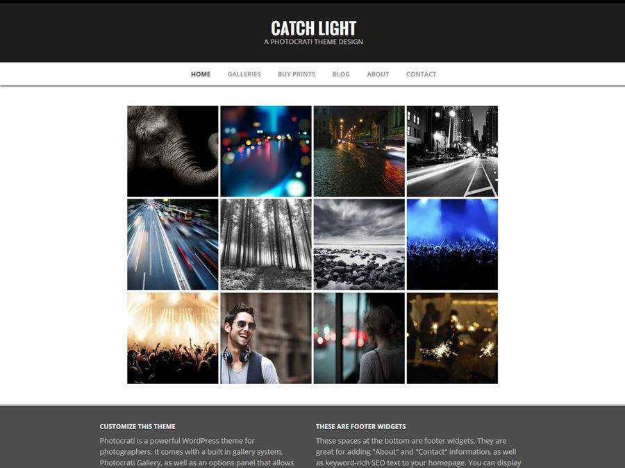 Catchlight WordPress Theme