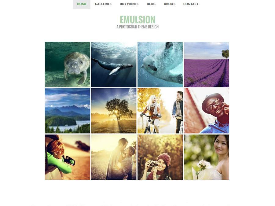 wordpress templates for photographers