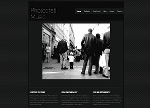 Street WordPress Photography Theme