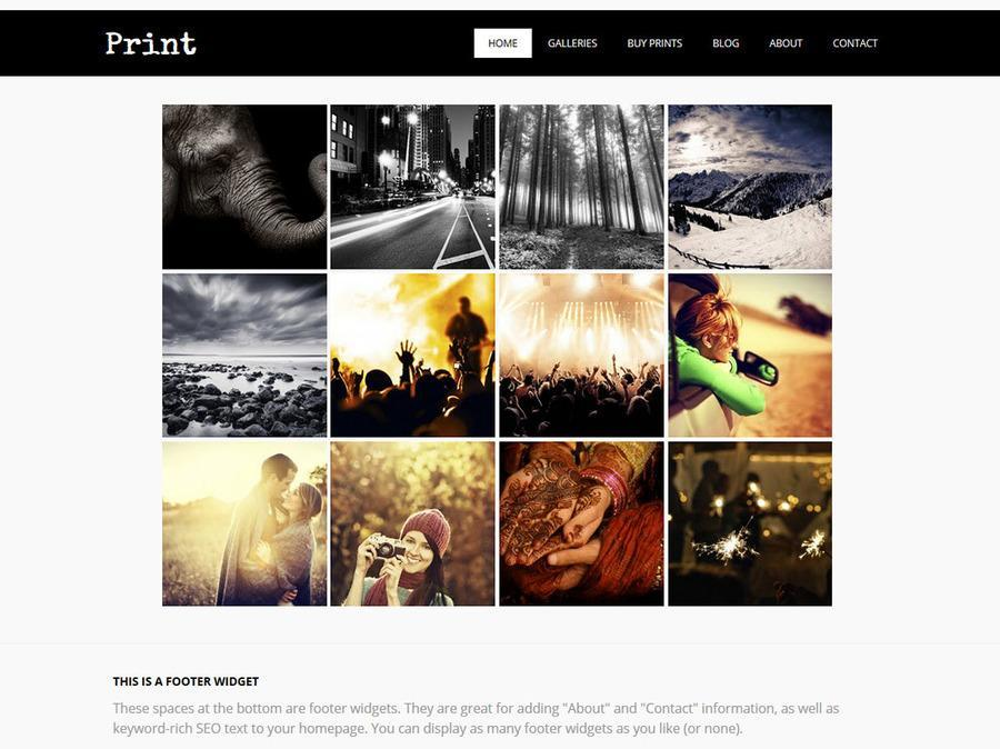 Print WordPress Theme