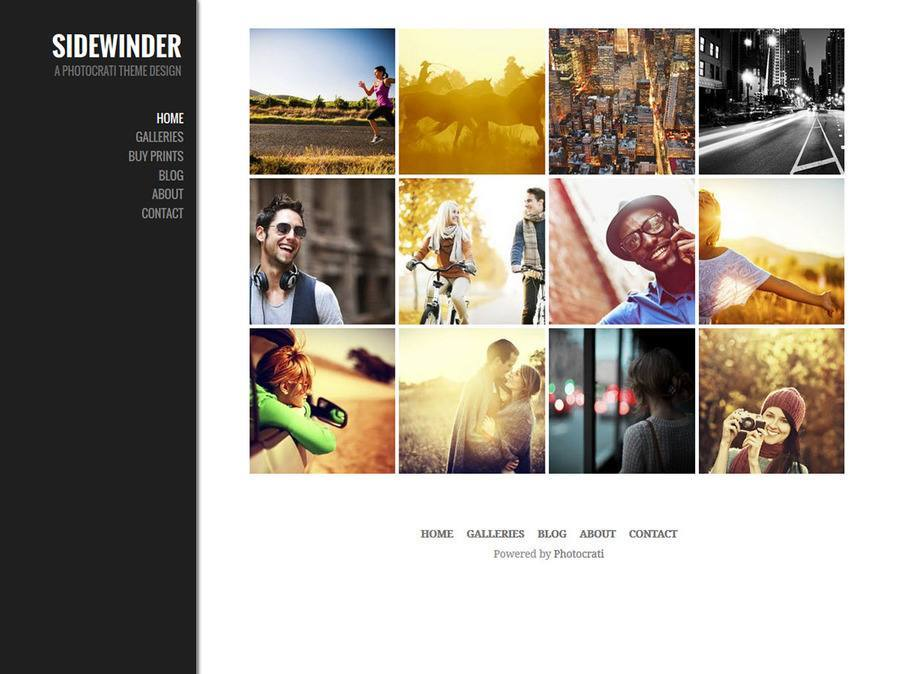 Sidewinder WordPress Theme