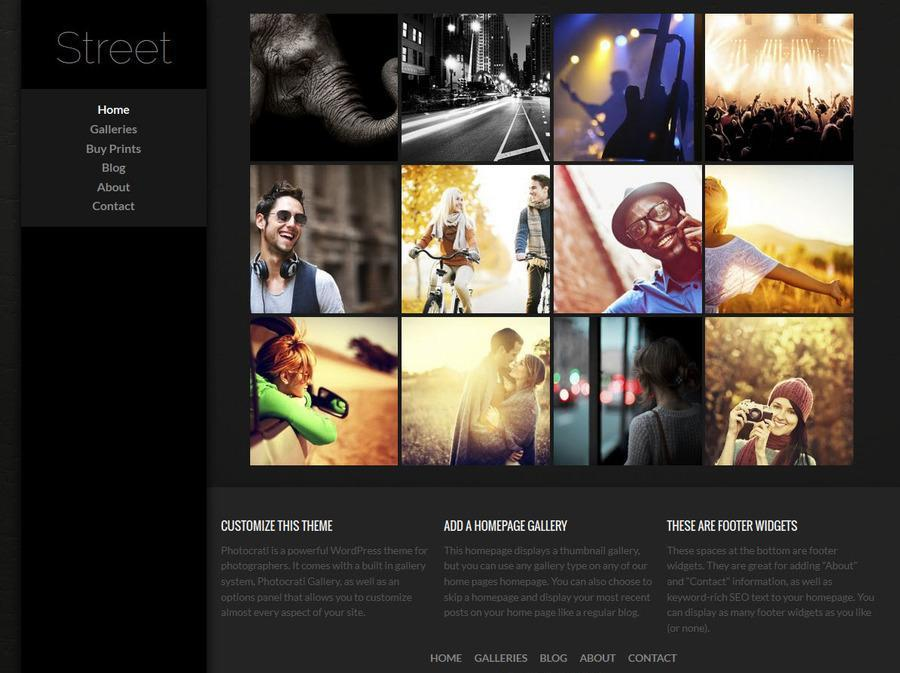 Streetside WordPress Theme