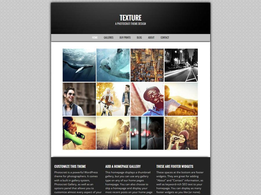 Texture WordPress Theme
